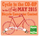promotion for Bicycle Commuter Contest. 2015