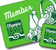 membership cards for the Co-op