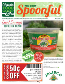Spoonful May 16, 2018 cover