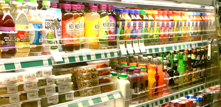 grab n go chill department at westside