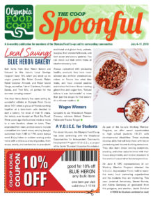 Spoonful July 4, 2018 cover