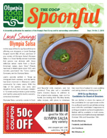 Spoonful September 19, 2018 cover