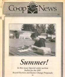 Co-op News July 1997 cover