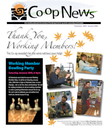 Co-op News December 2005 & January 2006 cover