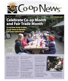 Co-op News October & November 2005 cover