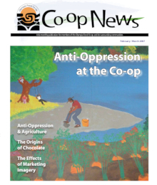 Co-op News February & March 2007 cover