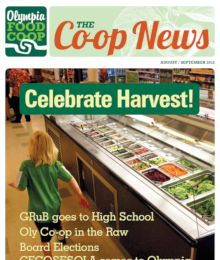 Co-op News August & September 2012 cover
