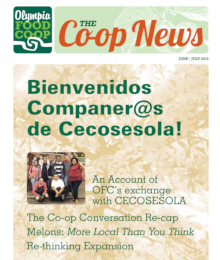 Co-op News June & July 2012 cover