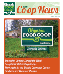 Co-op News April & May 2013 cover