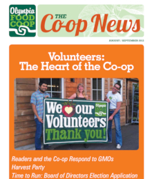Co-op News August & September 2013 cover