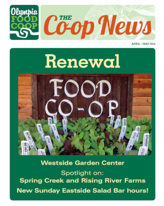 Quarterly News Olympia Food Co Op
