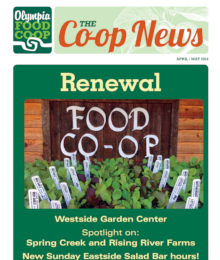 Co-op News April & May 2014 cover