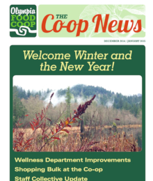 Co-op News December 2014 & January 2015 cover