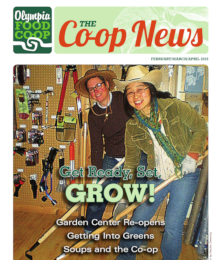 Co-op News February & March & April 2015 cover