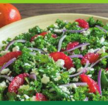 Kale recipe image. Copyright NCG