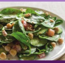 Salad recipe image. Copyright NCG