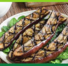 Eggplant recipe image. Copyright NCG