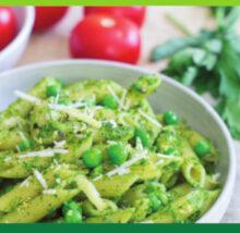 Pesto recipe image. Copyright NCG