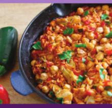 Paella recipe image. Copyright NCG