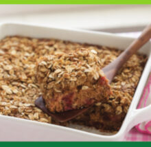 Rhubarb recipe image. Copyright NCG