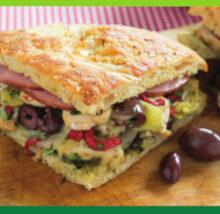 Sandwich recipe image. Copyright NCG