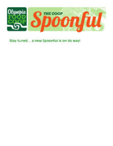 Spoonful Stay Tuned grapic