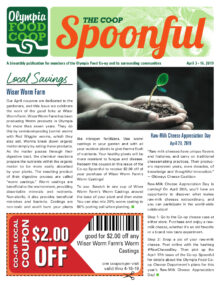 Spoonful April 3, 2019 cover 1