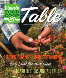 Cover of Co-op Table Magazine, Fall 2019