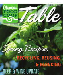 Cover of Table Magazine, Spring 2020