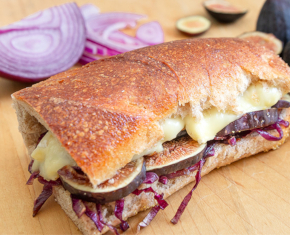 Image of Brie, Fig and Onion Panini