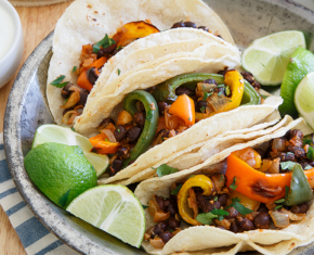 Image of Charred Pepper Tacos