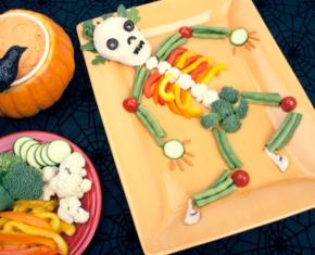 Image of Halloween Very Veggie Skeleton