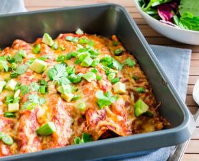 Image of Quick Black Bean Enchiladas