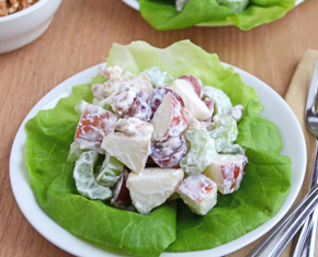 Image of Waldorf Salad with Yogurt and Honey