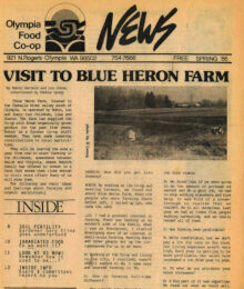 Image of Co-op News Spring 1985