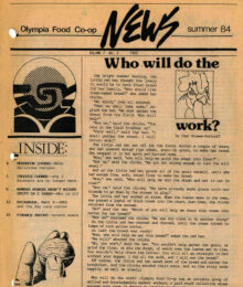 Cover of Co-op News, Summer 1984