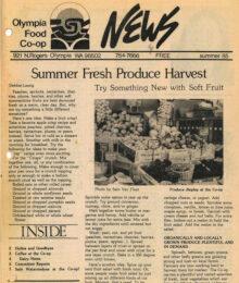 Cover Co-op News Summer 1985