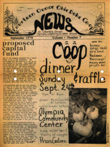 Front Cover Co-op News September 1978