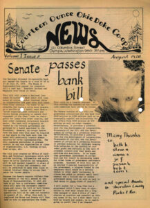 Co-op News Front Page August 1978