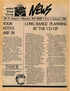 Cover Co-op News Summer 1986