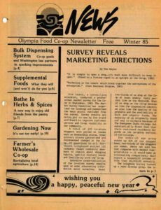 Cover of Co-op News Winter 1985