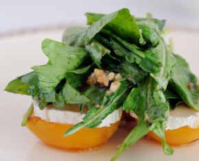 Grilled Apricots with Chevre and HoneyGrilled Apricots with Chevre and Honey