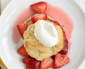 Strawberry Shortcake Chantilly