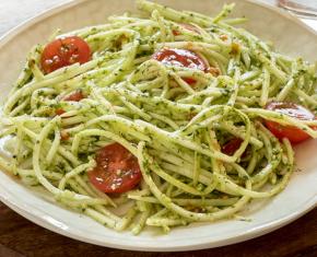 "Zucchini Pesto ""Pasta"""